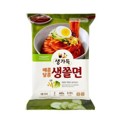 韓國食品-[Pulmuone] Spicy Cold Chewy Noodles 460g