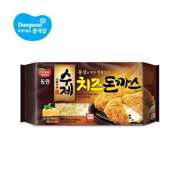 韓國食品-[Dongwon] Cheese Cutlet 480g
