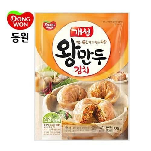 韓國食品-[Dongwon] Gaesung Kimchi Dumpling 630g