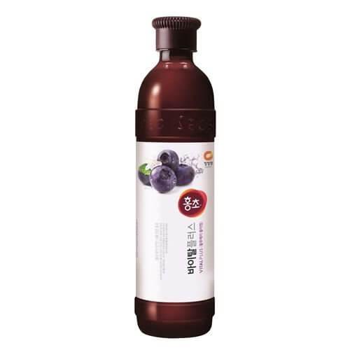 韓國食品-[CJO] Hongcho[Blueberry] 900ml