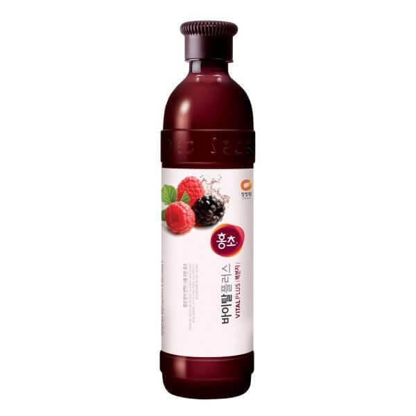 韓國食品-[CJO] Hongcho [Blackberry] 900ml