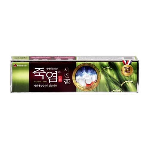 韓國食品-[LGcare] 竹鹽牙膏[敏感牙齒] 140g