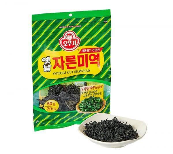 韓國食品-[Ottogi] Dried Sliced Seaweed 50g