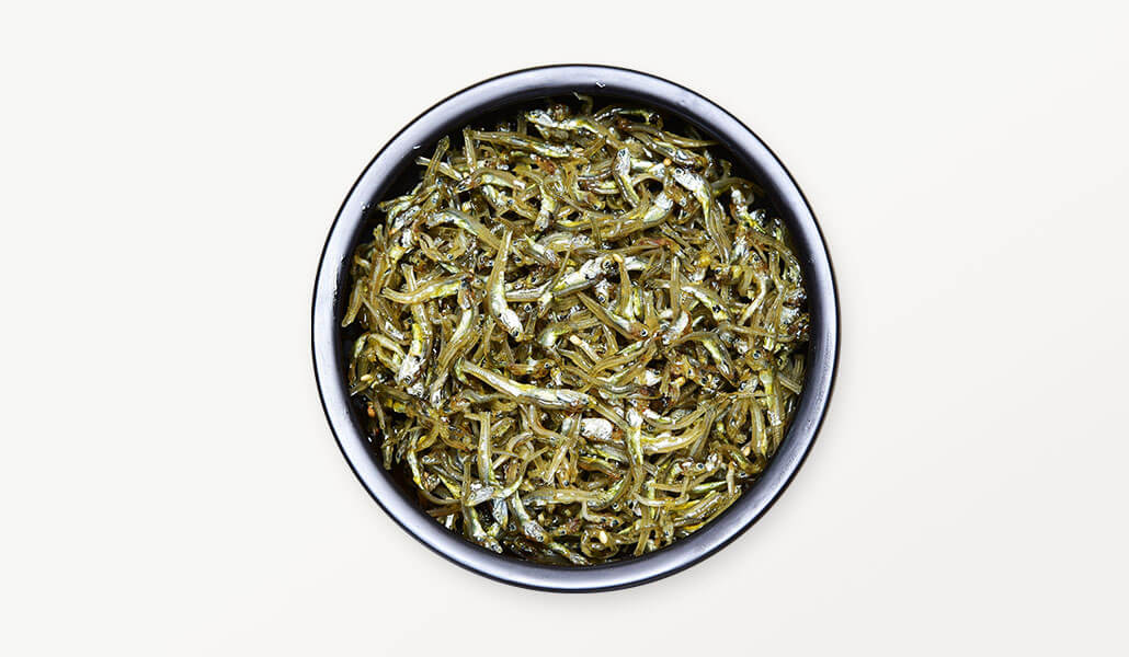 韓國食品-stir fried anchovies