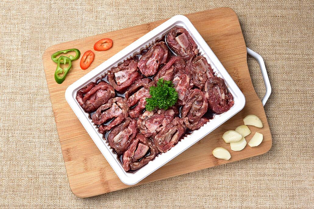 韓國食品-C&T Po Cheon-style Marinated Beef Short Ribs 5pc