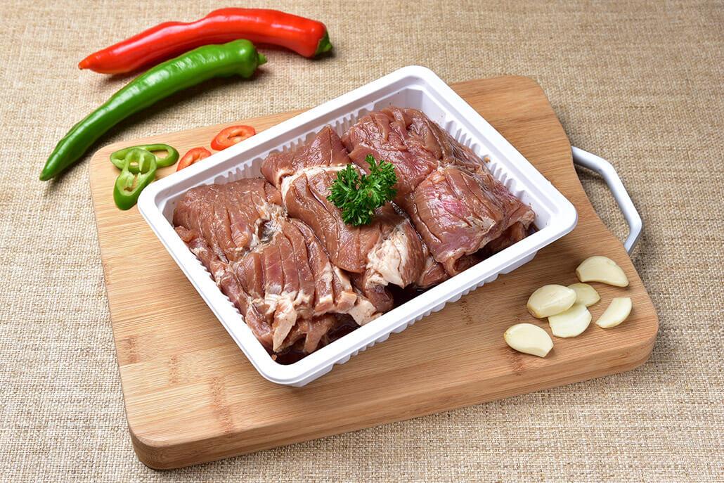 韓國食品-King-size Pork Marinated Short Ribs 1pc