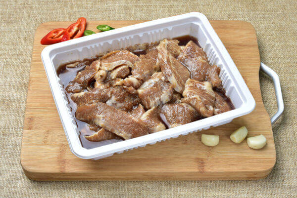 韓國食品-Marinated Pork Jowl 600g