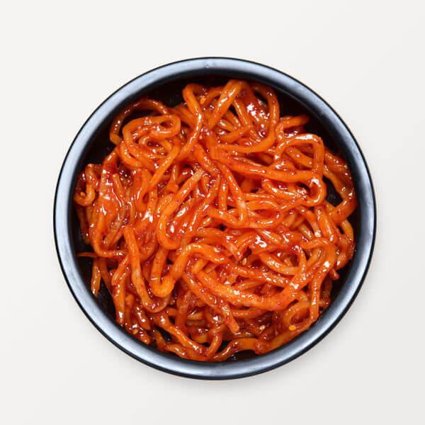 韓國食品-spicy stir fried dried squid