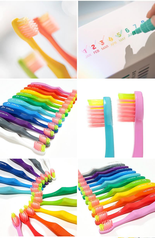 韓國食品-[The Twelve] 兒童牙刷 12個