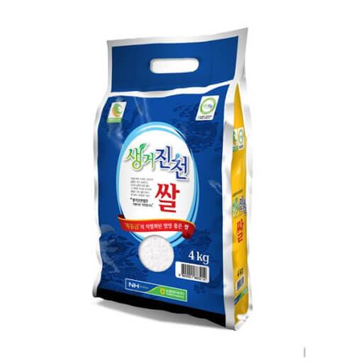 韓國食品-[Riceall NongHyup] Geojincheon Rice 4kg (*keep refrigerated)
