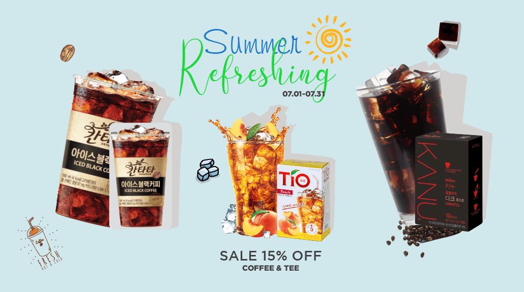 韓國食品-Summer Refreshing - 15% off(07.01-07.30)