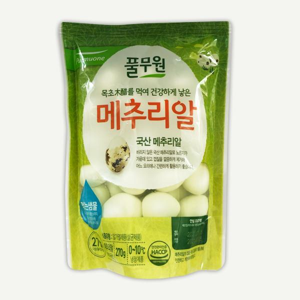 韓國食品-[Pulmuone] Quail Eggs 270g