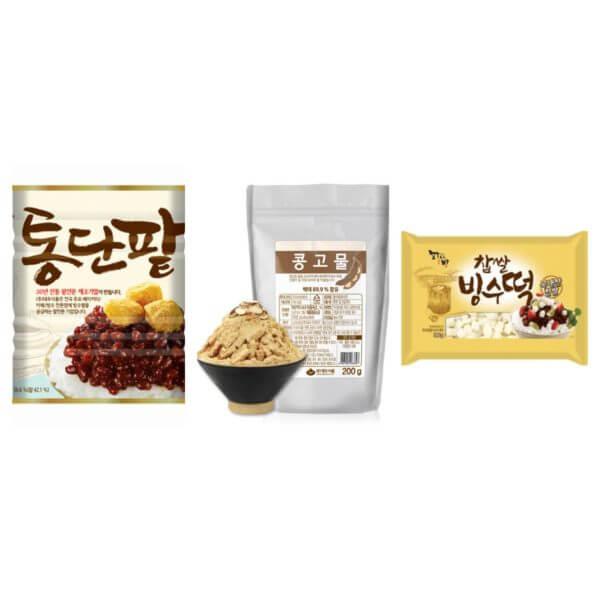 韓國食品-Red Bean Shaved Ice Set