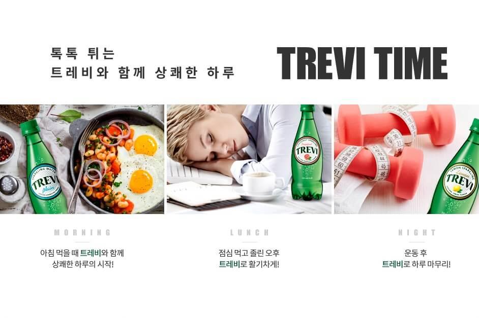 韓國食品-[Lotte] Chilsung Trevi Kumquat 500ml