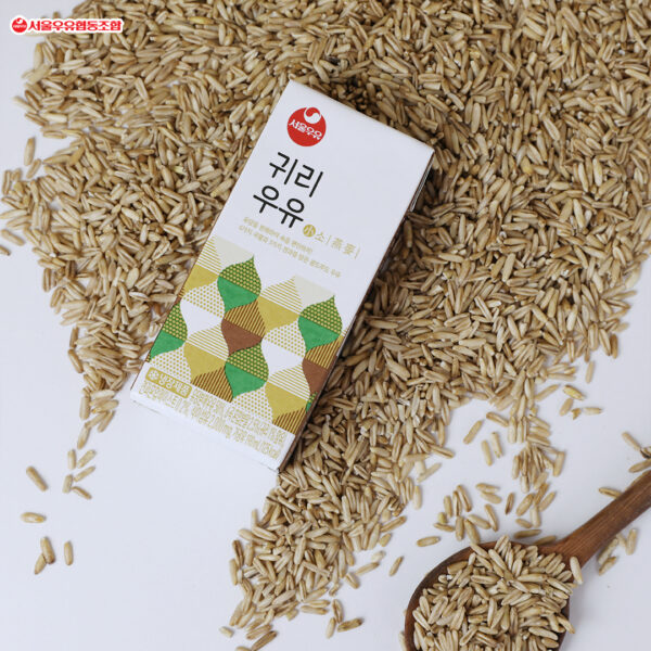 韓國食品-[Seoul Milk] Oats Milk 190ml