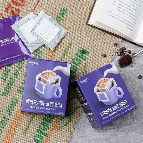 韓國食品-[Mcnulty] Ethiopia Koke Honey Coffee 8g*7