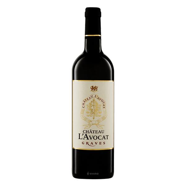 韓國食品-[Chateau L'Avocat] 2015 Graves Red Wine 750ml