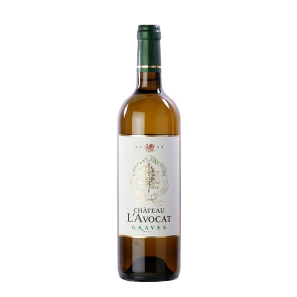 韓國食品-[Chateau L'Avocat] 2016 Graves Blanc White Wine 750ml