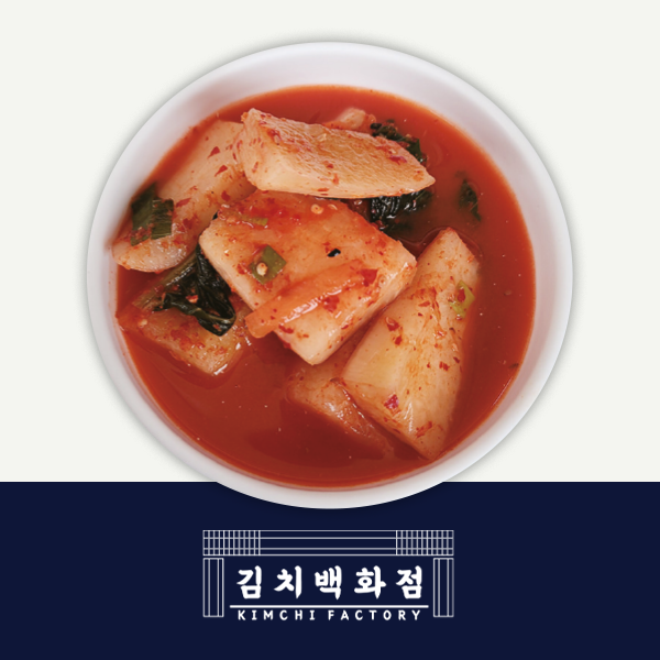 韓國食品-[Kimchi Factory] Seokbakji (M Size)