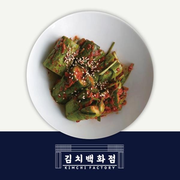 韓國食品-[Kimchi Factory] Cucumber Kimchi (M Size)