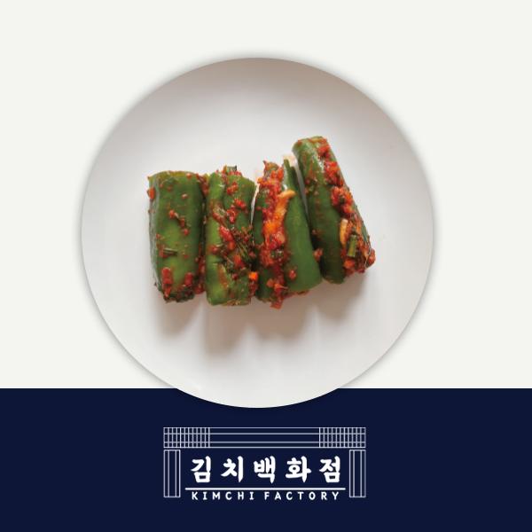 韓國食品-[김치백화점] 아삭고추소박이 (M Size)