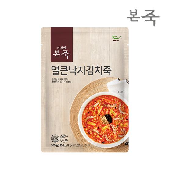 韓國食品-[Bonif] Octopus Kimchi Porridge 200g