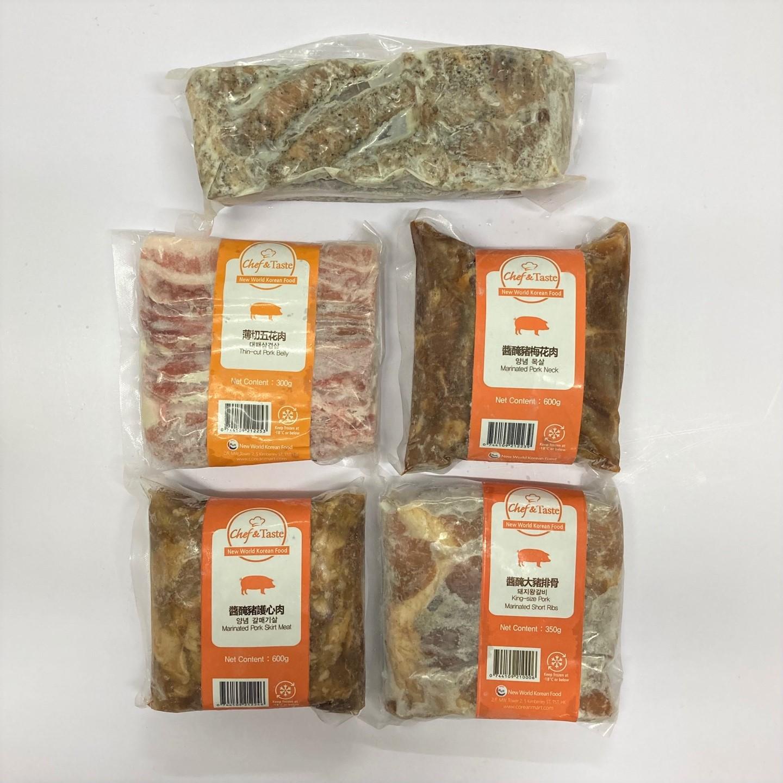 韓國食品-C&T Korean BBQ Set - Pork
