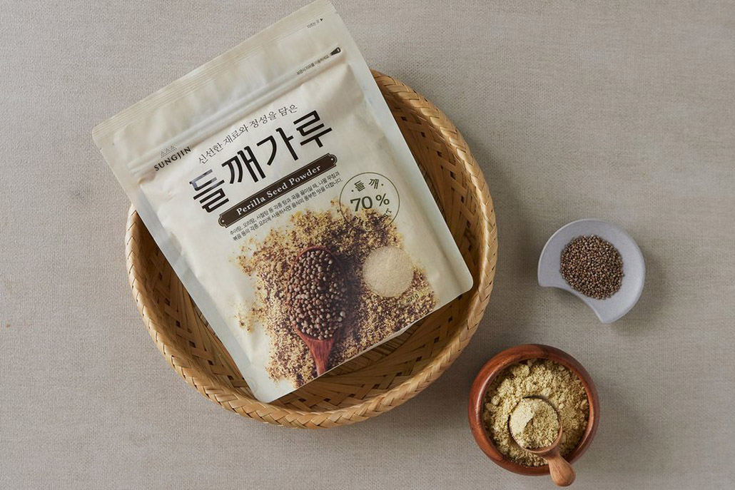 韓國食品-[Sungjin] Perilla Seed Powder 400g