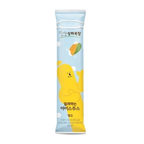 韓國食品-[Sangha Farm] Frozen Ice Juice [Mango] 85mL*6pcs (Kept in Room temperature)