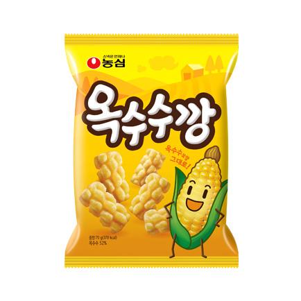 韓國食品-[Nongshim] Corn Snack 70g