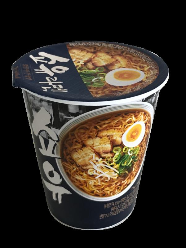 韓國食品-[GS25] Chengjung Shoyu Ramen 75g