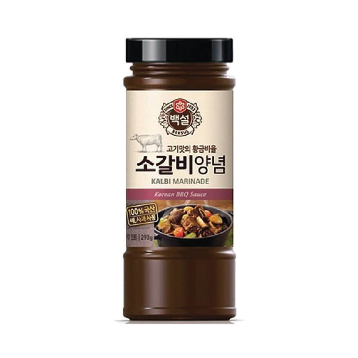 Cj Beksul Beef Kalbi Marinade 290g New World E Shop Korean Food