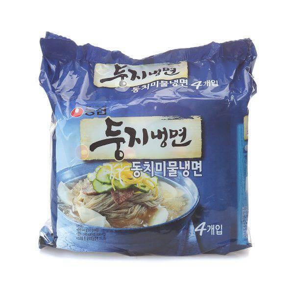 韓國食品-[Nongshim] Dungji Instant Cold Noodle 161g*4p