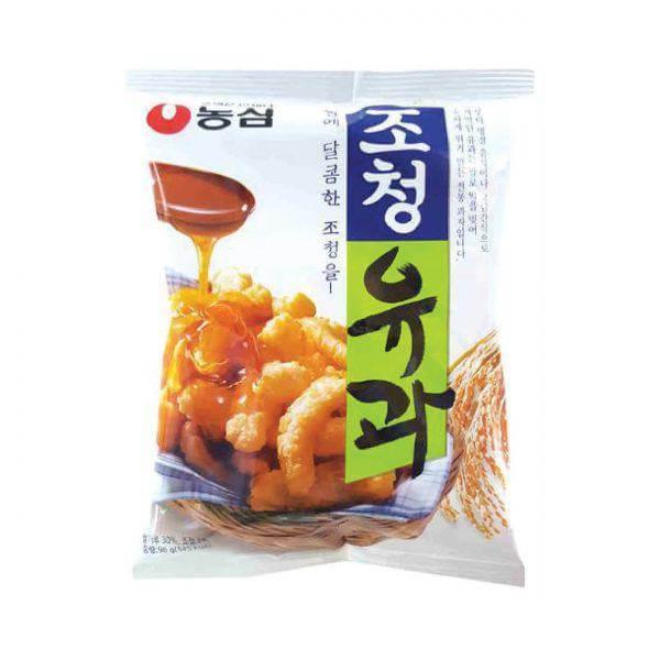 韓國食品-[Nongshim] Honey Pastry 96g